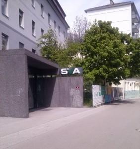 Klein, fein - aber: Zutritt verboten. Der Martin Rieder Park.