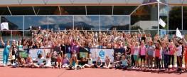 Innsbrucker Schulen erlaufen 11209,20Euro für sauberes Trinkwasser!