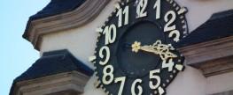 Wer hat an der Uhr gedreht?