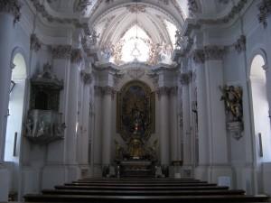Innsbruck-Johanneskirche-Altarraum
