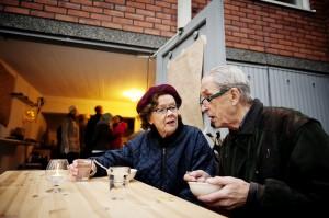 Miteinander reden statt gegenseitig anzeigen - auch das ein Konzept des Restaurant Day (c) restaurantday