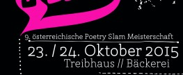 Ö-Slam 2015 am 23.+24. Oktober in Innsbruck!