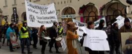 Demomarsch für Tierrechte und gegen Tierpelz!