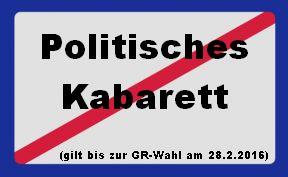 Politisches Kabarett unerwünscht1