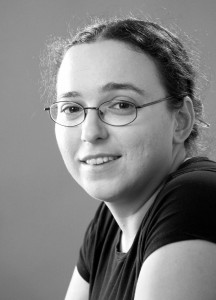 Fühlt sich in der Welt der Lyrik pudelwohl - und das merkt man jedem ihrer Wörter an: Veronika Dintinjana (Slowenien)