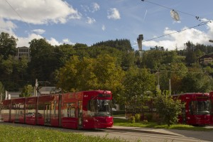 Linie 6 bei Bergisel