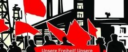 """Maidemonstration in Innsbruck:  """"Unsere Freiheit! Unsere Rechte! Unsere Welt!"""""""