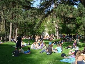 flashmob hofgarten