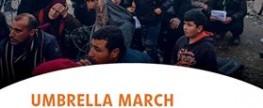 UMBRELLA MARCH: Wir bleiben solidarisch!