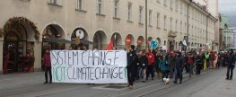 People's Climate March in Innsbruck