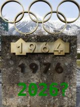 Von Olympischen Ringen und dünnem Eis