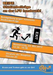 Studiengebühren an der Uni Innsbruck?