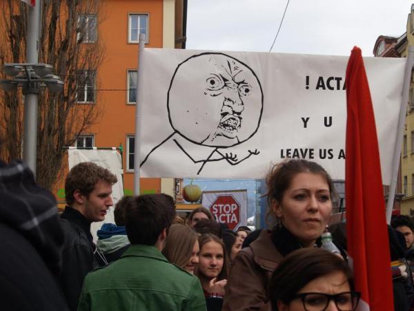 Anti-ACTA Teil 2: Wir bleiben dran!