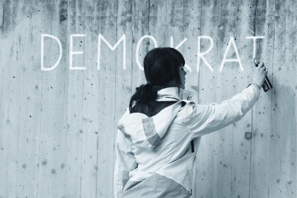 Demokratie am Tableau