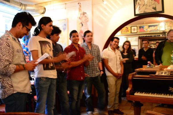 Künstler aus Lateinamerika präsentieren ihre Werke im Cafe Ararat