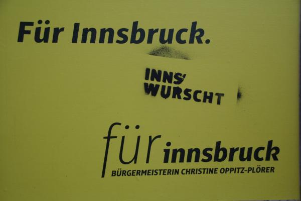 Innsbruck-Wahl: Wahlbeleidigung bei 55,47 Prozent
