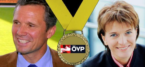 Zwei Seiten einer ÖVP-Medaille
