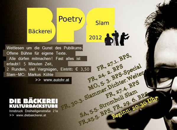 Bäckerei Poetry Slam