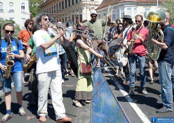 Hoffnung für die Straßenmusik?