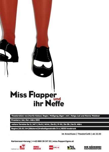 Uraufführung: Miss Flapper und ihr Neffe